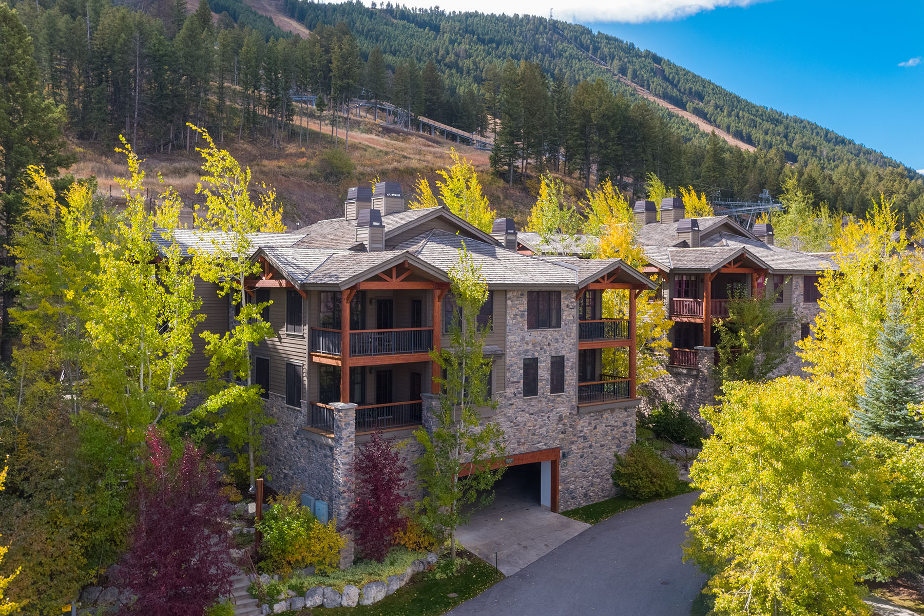 Copropriété pour l Vente à Grand View Condo at Snow King Resort 552 Snow King Loop # 521, Jackson, Wyoming, 83001 Jackson Hole, États-Unis