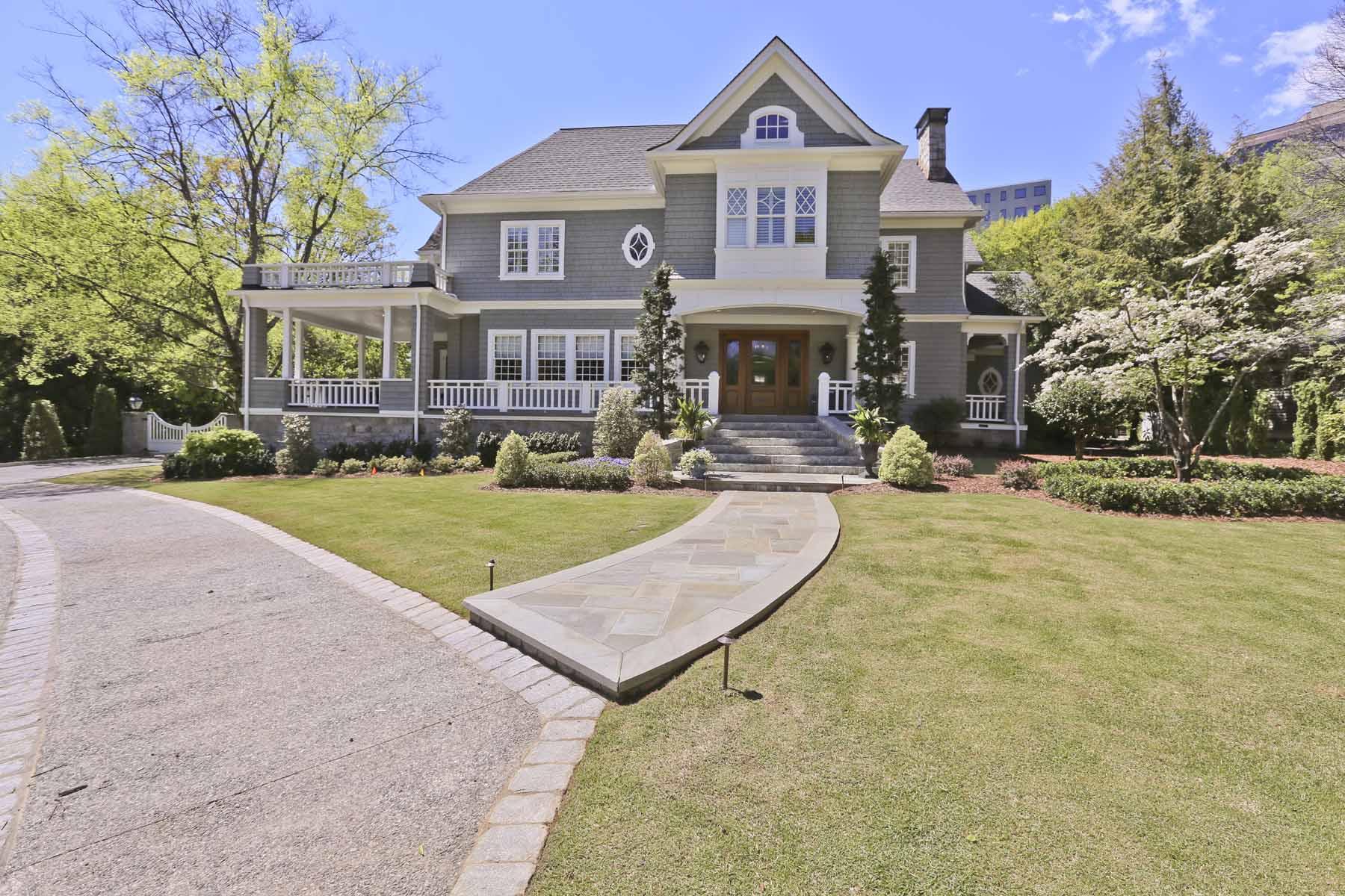Nhà ở một gia đình vì Bán tại Ansley Park Masterpiece 210 Peachtree Circle NE Ansley Park, Atlanta, Georgia, 30309 Hoa Kỳ