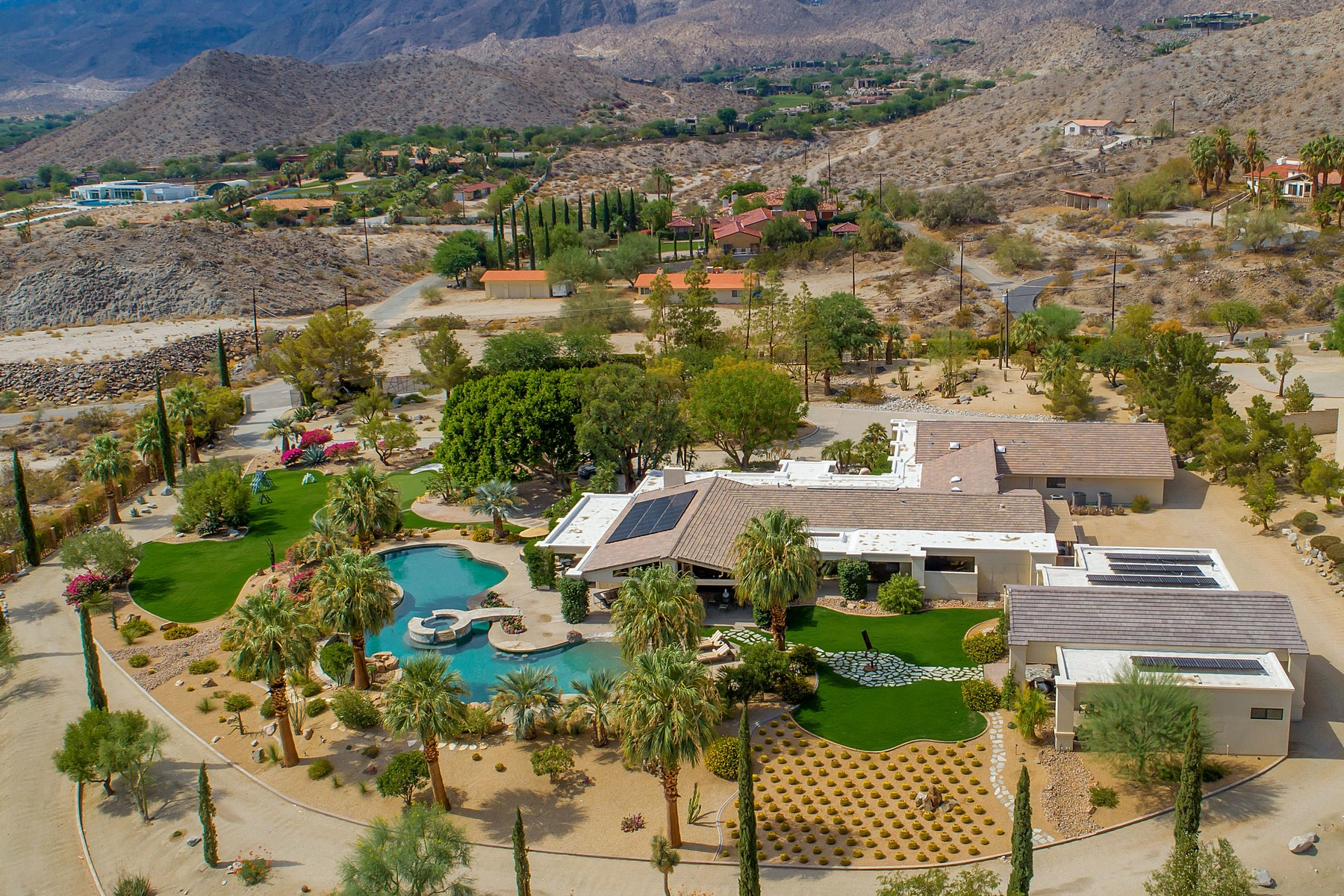 Single Family Homes for Sale at 71450 Cholla Way Palm Desert, California 92260 United States