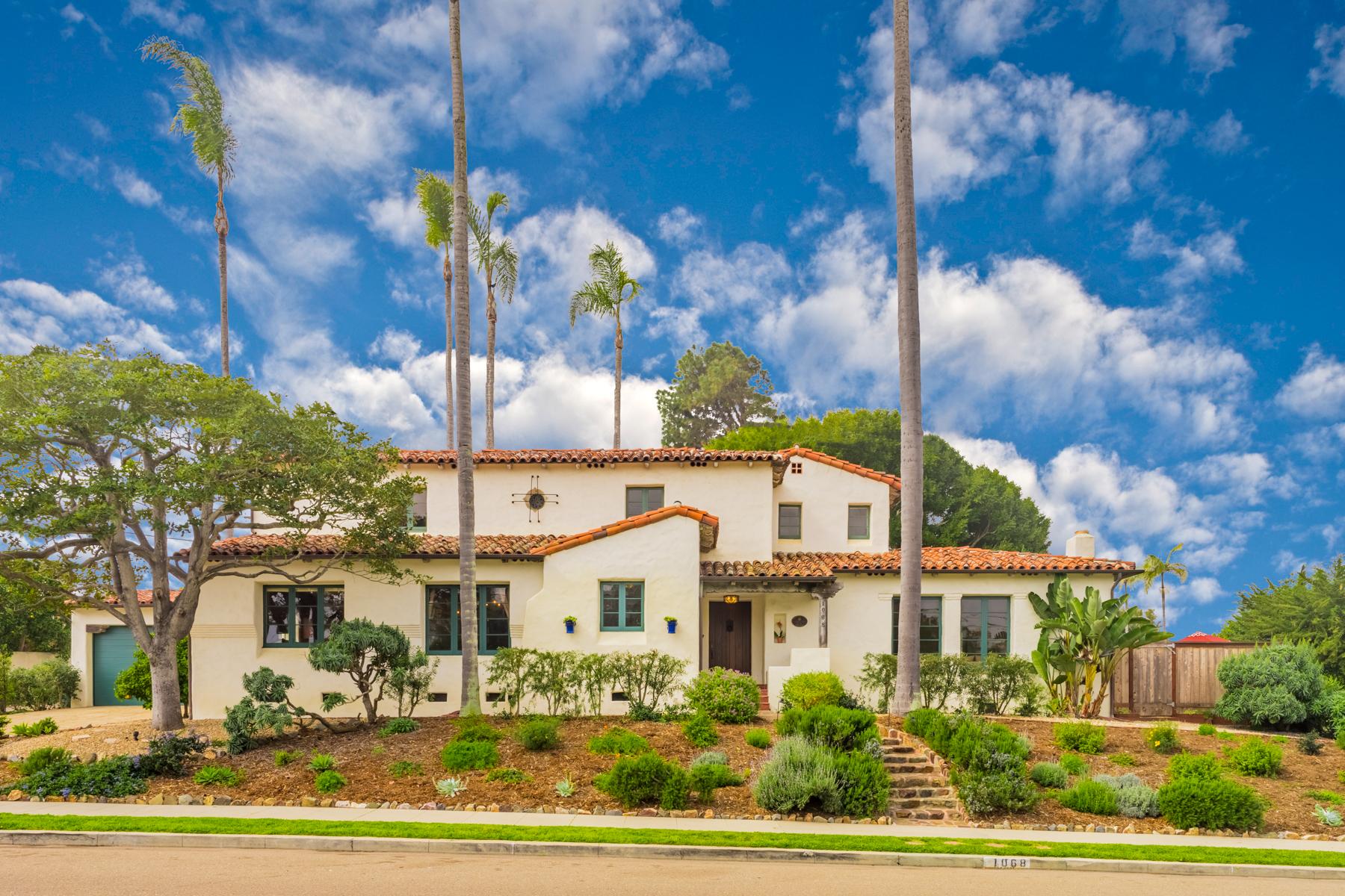 Casa Unifamiliar por un Venta en 1068 Santa Barbara Street Sunset Cliffs, San Diego, California, 92107 Estados Unidos