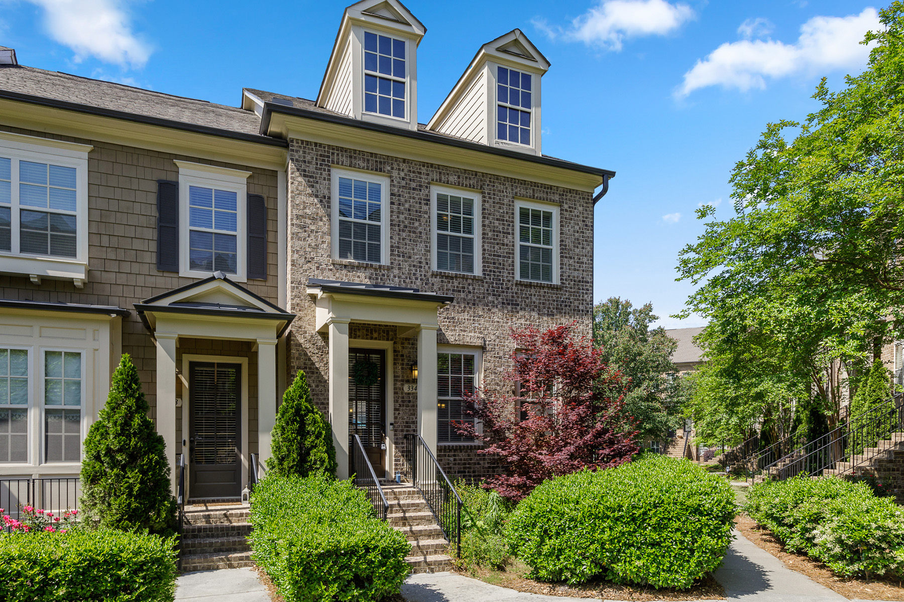townhouses for Sale at Gated Town Home in Hot Chamblee Area 3345 Turngate Court Chamblee, Georgia 30341 United States