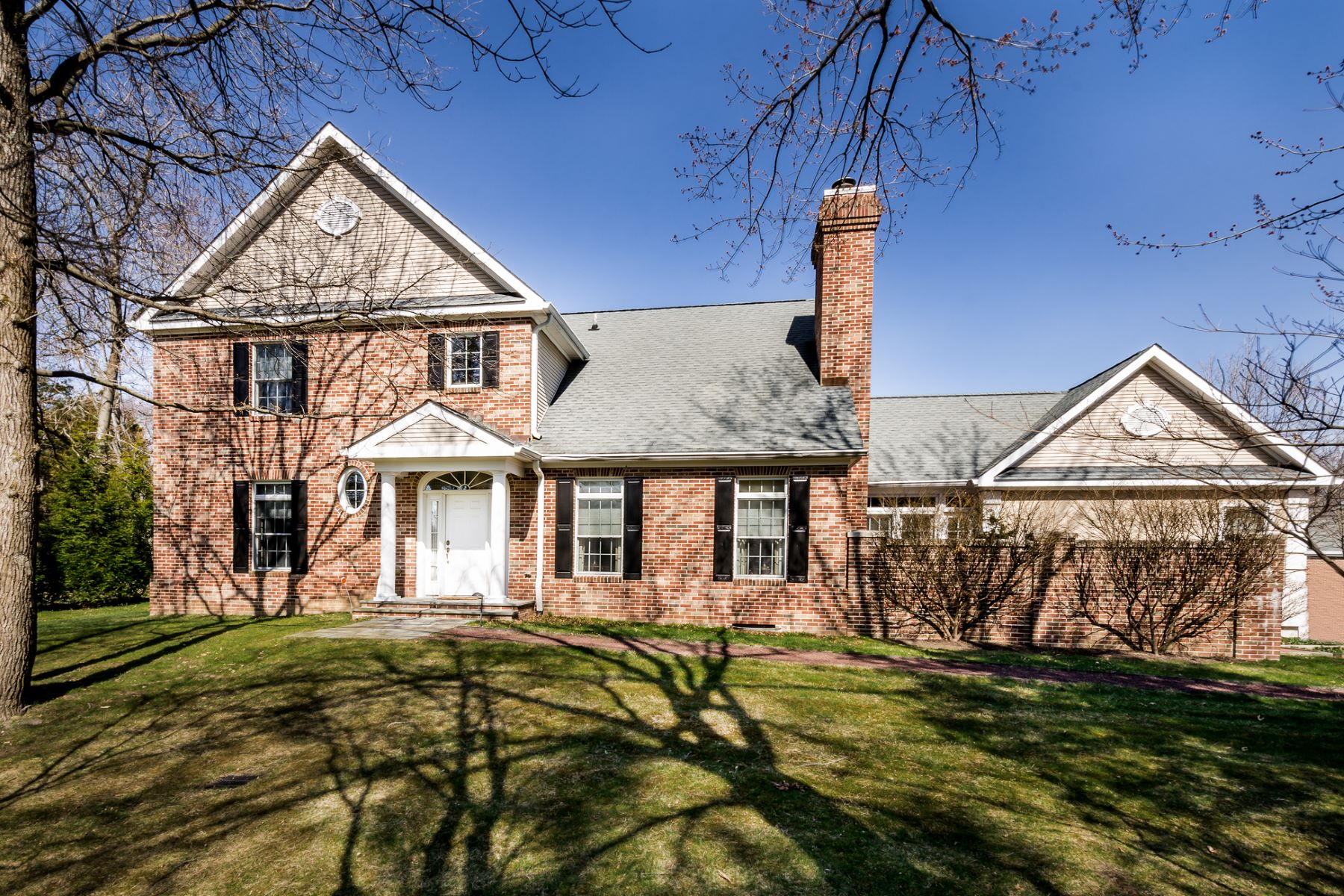Single Family Home for Sale at Calm Graciousness in Governors Lane 15 Governors Lane Princeton, New Jersey 08540 United States