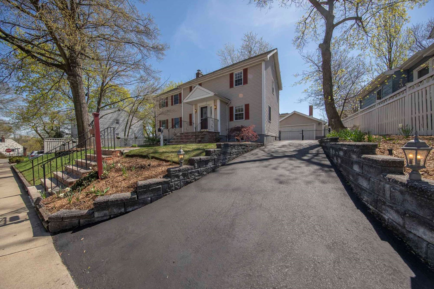 Single Family Homes for Sale at Expanded Colonial 139 Gordon Street Ridgefield Park, New Jersey 07660 United States