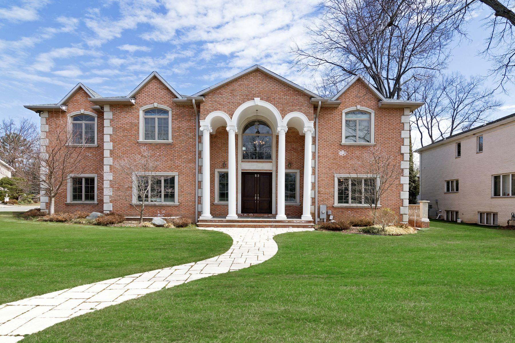 Vivienda unifamiliar por un Venta en Luxurious Brick Manor 53 Stephen Drive Englewood Cliffs, Nueva Jersey, 07632 Estados Unidos