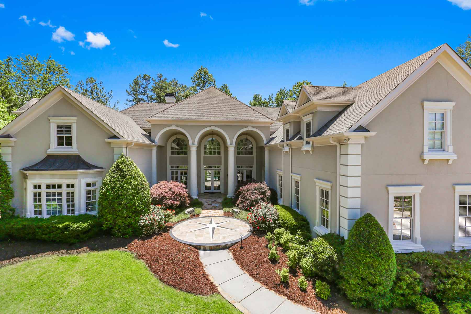 Single Family Home for Rent at Simplified Resort Living in Country Club of the South 2007 Westbourne Way Johns Creek, Georgia 30022 United States