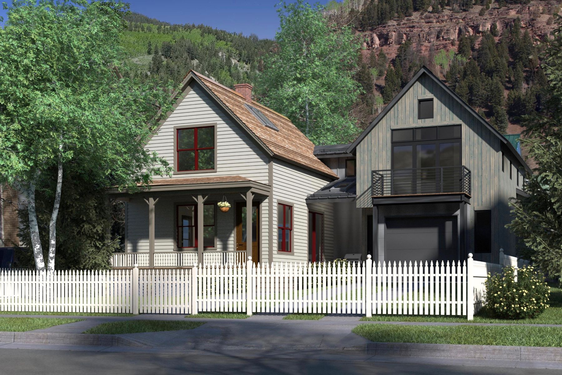 Single Family Home for Active at 547 West Pacific Avenue 547 West Pacific Avenue Telluride, Colorado 81435 United States