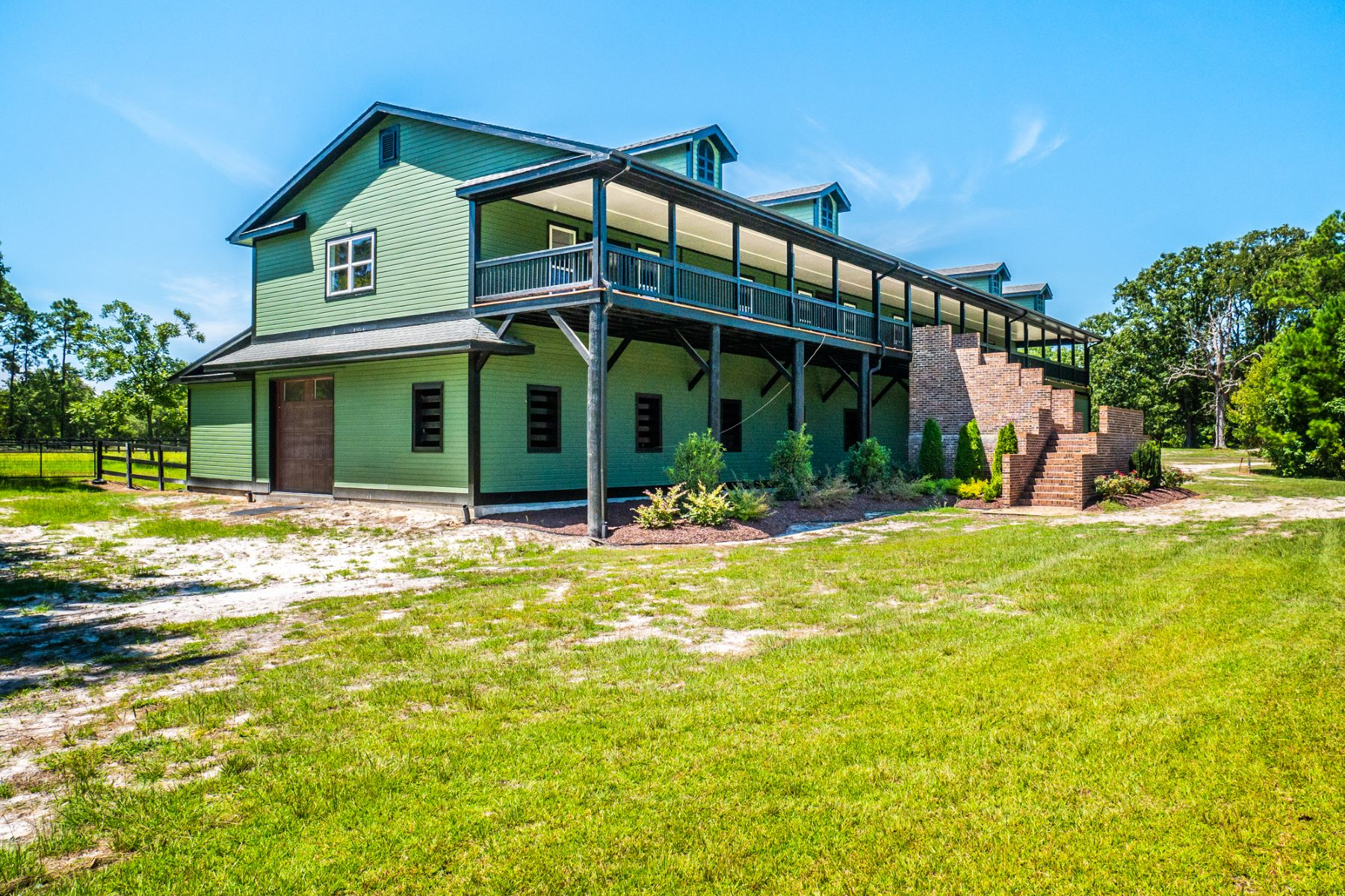 Single Family Homes for Sale at Elegant Equestrian Property Near the Ocean 240 Green Bay Road NW Ocean Isle Beach, North Carolina 28469 United States