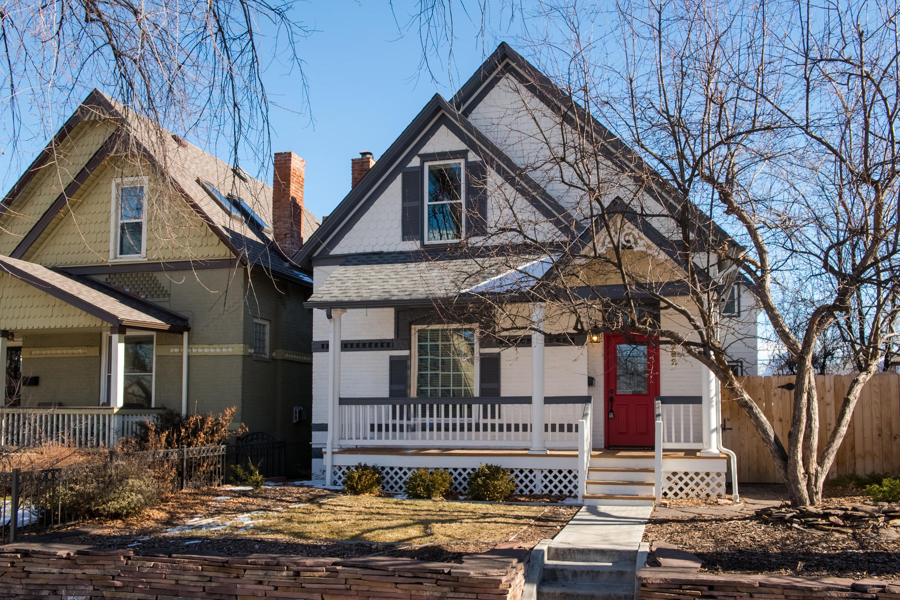 Single Family Home for Active at This Classic Home Has Original Charm with all of the Modern Day Updates 3262 Newton St Denver, Colorado 80211 United States