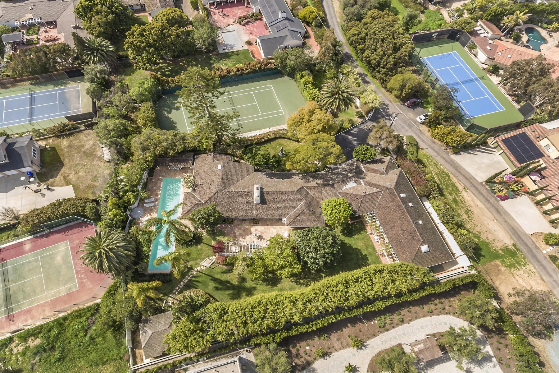 Single Family Homes for Sale at One-Acre Private Road Near Beach La Jolla, California 92037 United States