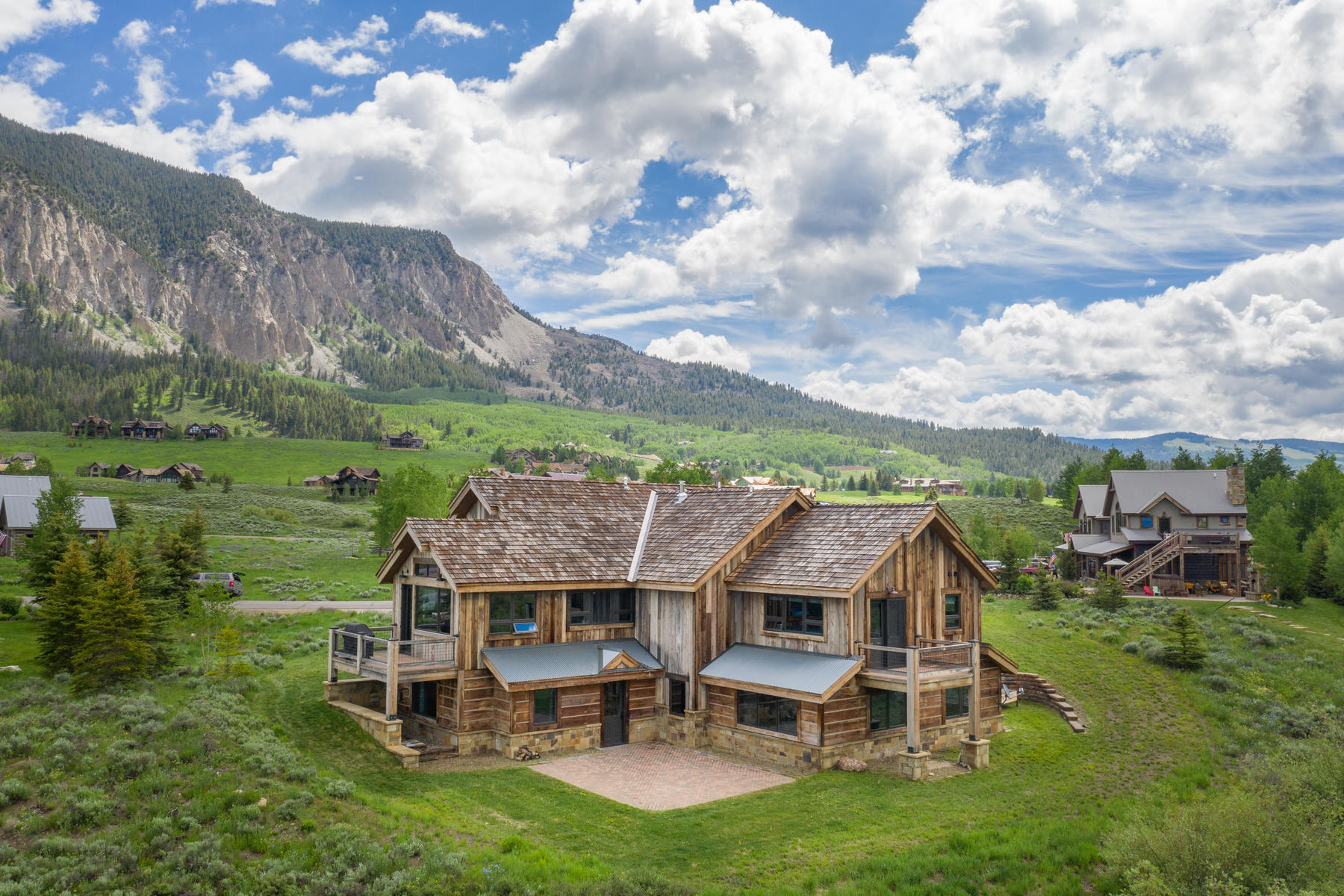 Single Family Homes for Sale at Unique, Handcrafted Home 45 W Silver Sage Drive Crested Butte, Colorado 81224 United States