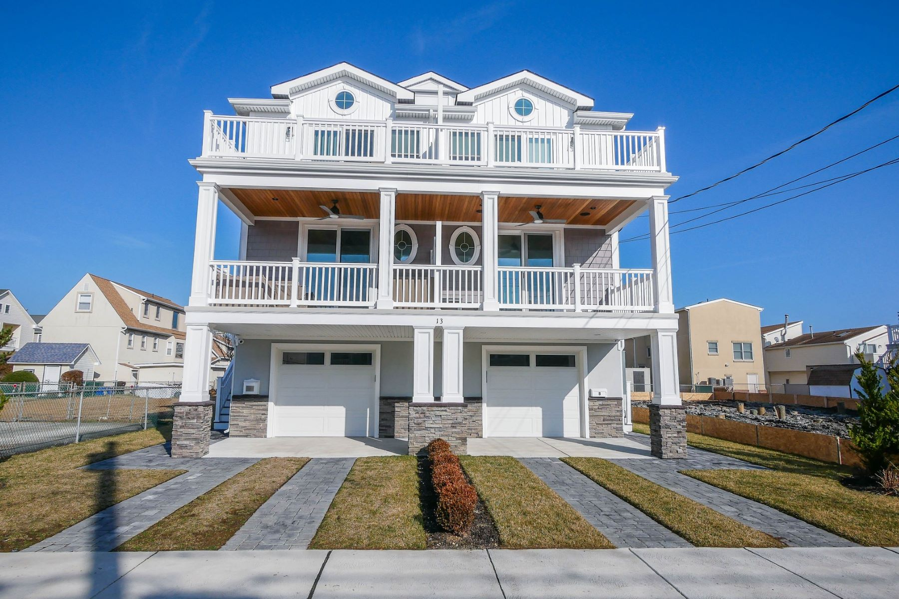 townhouses for Sale at 13 N Jefferson Unit A Margate, New Jersey 08402 United States