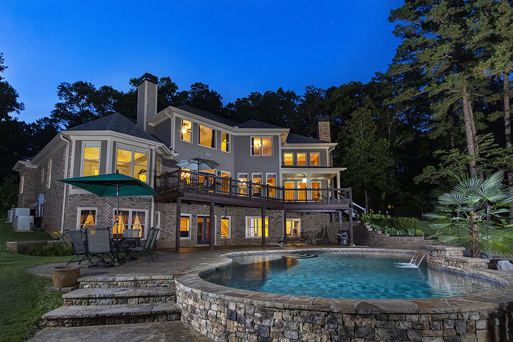 Single Family Homes для того Продажа на Live Outside the Ordinary 1604 Gantt Road, Alpharetta, Джорджия 30004 Соединенные Штаты