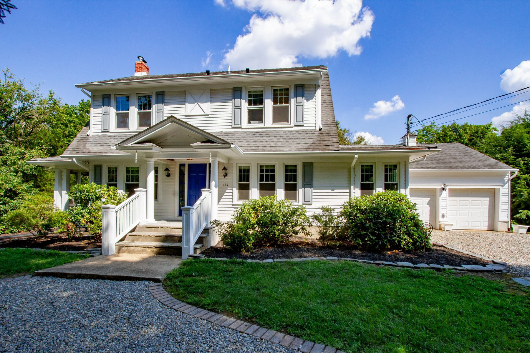 Single Family Homes for Sale at Farmhouse Chic 107 Brown Rd Howell, New Jersey 07731 United States