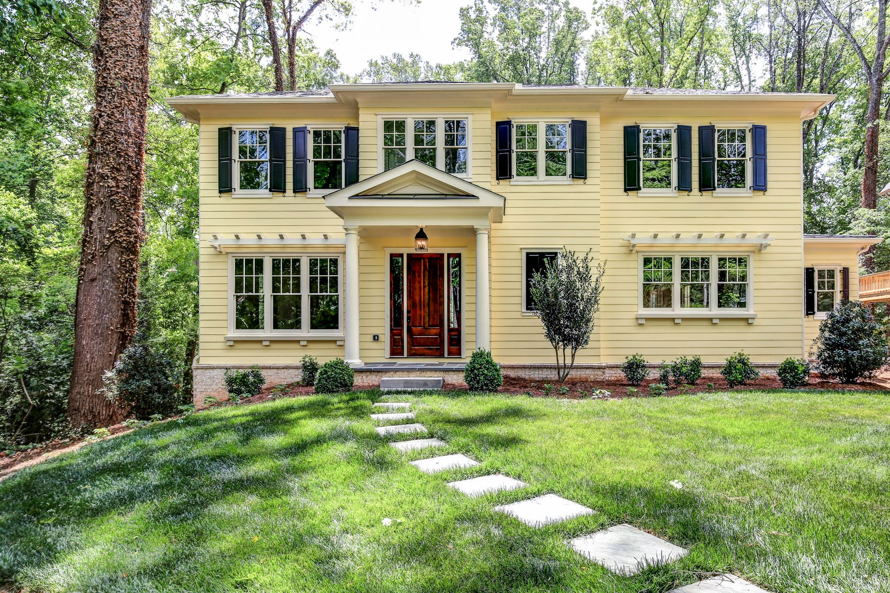 Single Family Home for Sale at Top Quality New Executive Home by Preeminent Custom Builder 1847 N. Decatur Road Druid Hills, Atlanta, Georgia, 30307 United States