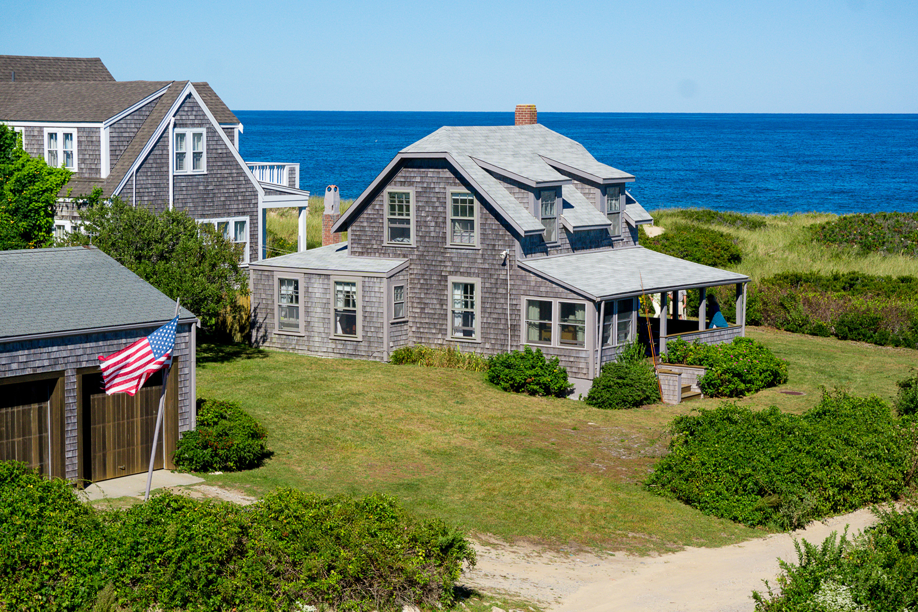 """Single Family Home for Sale at """"None Better"""" 94 Quidnet Road Nantucket, Massachusetts, 02554 United States"""