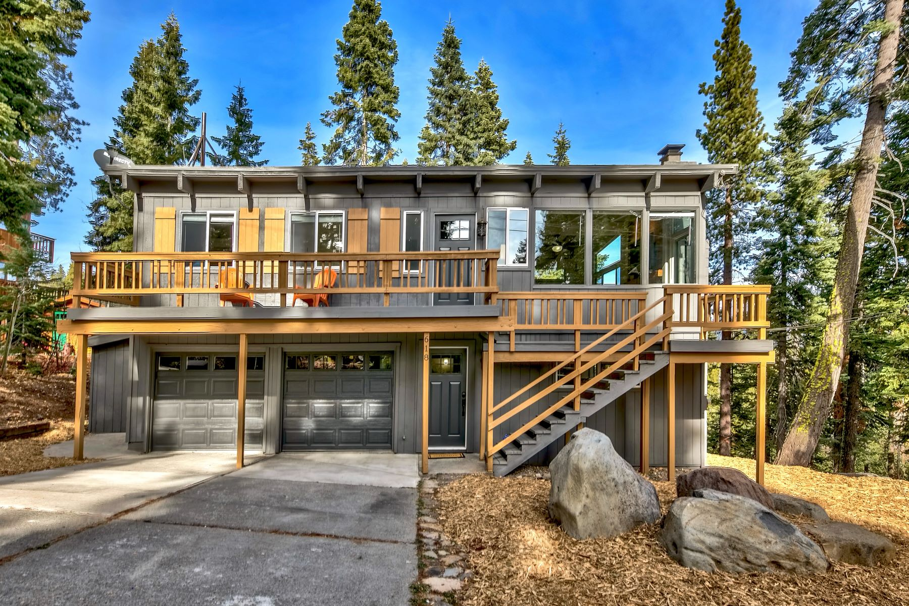 Single Family Homes for Active at 618 North Ridge Drive, Carnelian Bay, CA 96140 618 North Ridge Drive Carnelian Bay, California 96140 United States