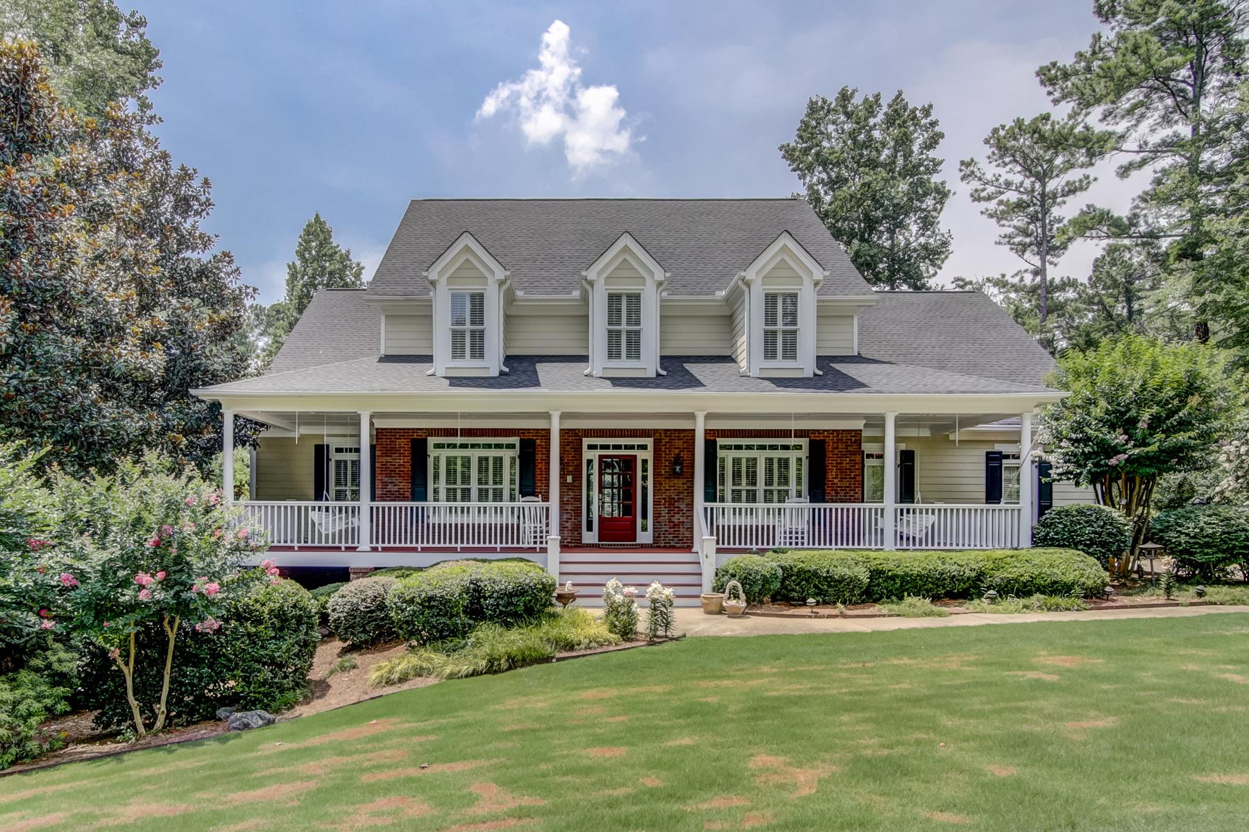 Eensgezinswoning voor Verkoop op Beautiful Property In Milton 550 N Burgess Trail Milton, Georgië 30004 Verenigde Staten