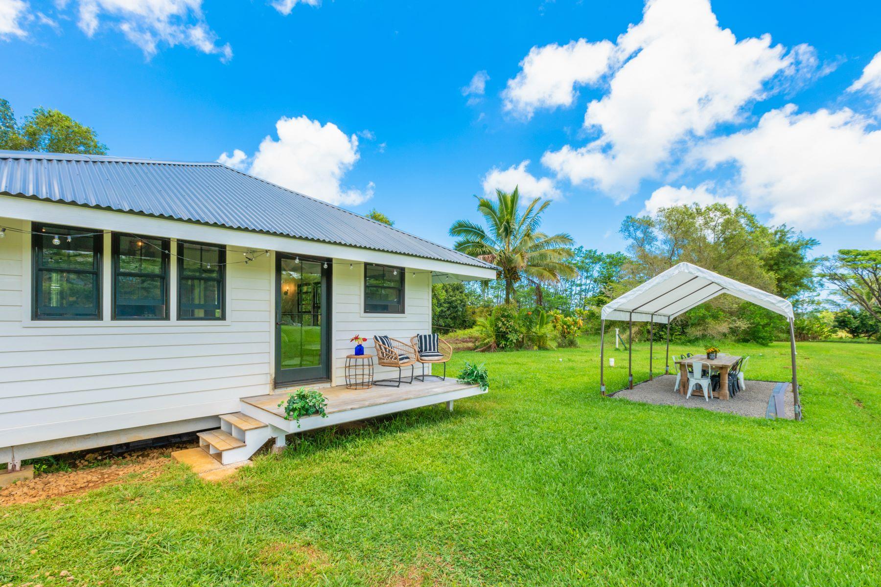 Single Family Homes for Active at Aloha Wai 6240 Kahiliholo Road #B Kilauea, Hawaii 96722 United States