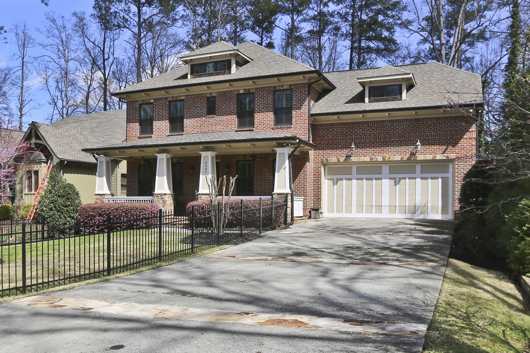 Nhà ở một gia đình vì Bán tại Spectacular Custom Craftsman 3309 Osborne Road NE Atlanta, Georgia, 30319 Hoa Kỳ