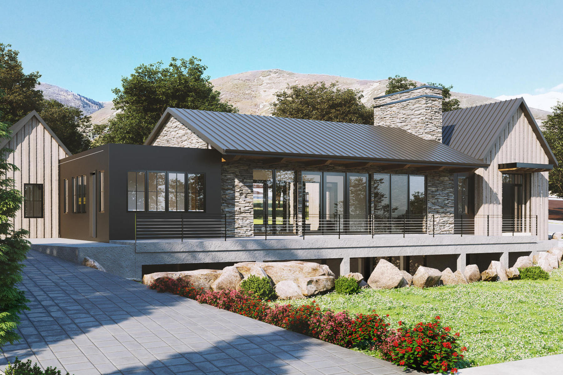 Single Family Homes for Active at Modern Scandinavian Farmhouse 433 North 850 West Midway, Utah 84049 United States