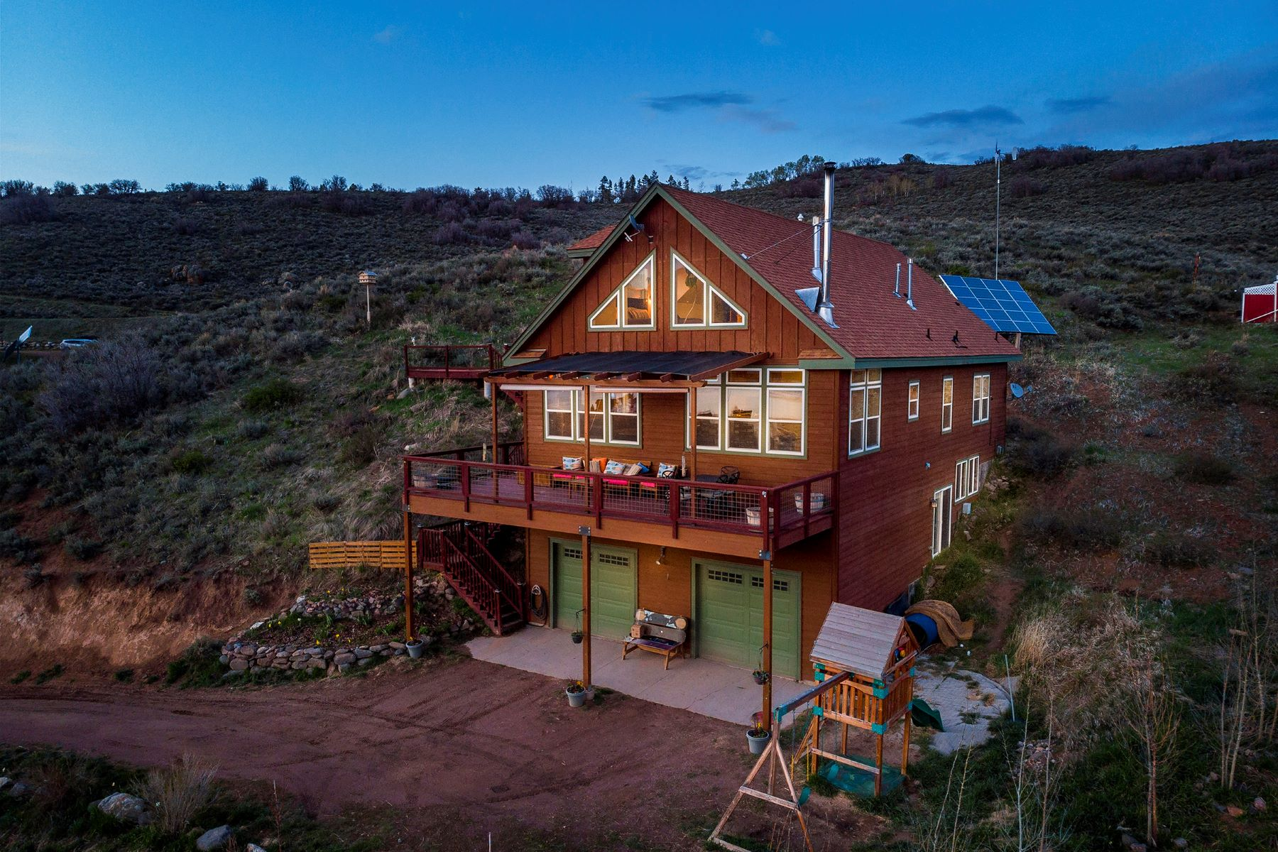 Single Family Homes for Active at Lake Life With Stunning Views 31580 Shoshone Way Oak Creek, Colorado 80467 United States