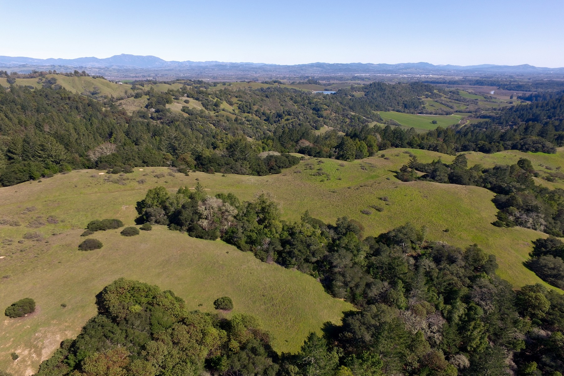Terreno por un Venta en Mount Jackson Ridge Ranch 3500 Sweetwater Springs Road Healdsburg, California 95448 Estados Unidos