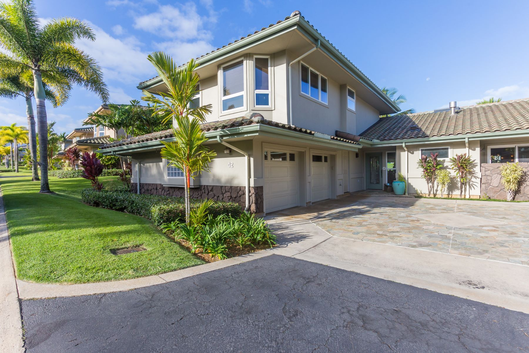 Maison en rangée pour l Vente à Kaiulani of Princeville 4100 Queen Emmas Drive #42 Princeville, Hawaii 96722 États-Unis