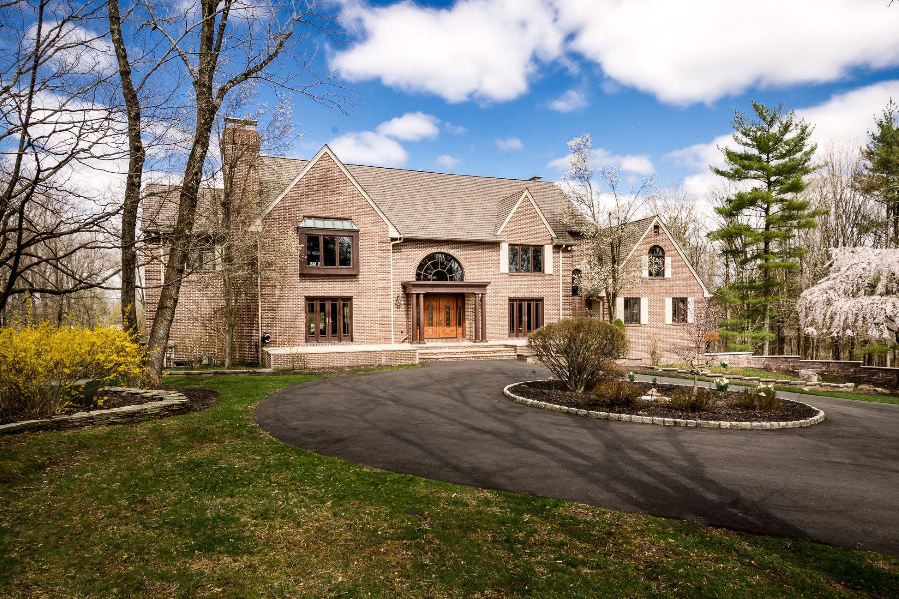"""Частный односемейный дом для того Продажа на Worthy of A """"Wow!"""" 38 Coppervail Court, Princeton, Нью-Джерси 08540 Соединенные ШтатыВ/Около: Montgomery Township"""
