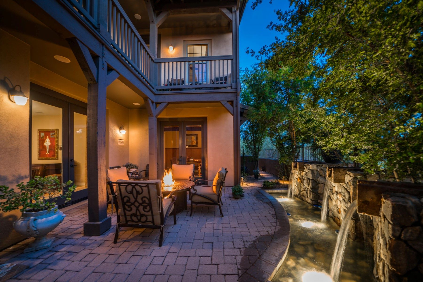 Townhouse for Sale at Highly Upgraded Villa 18509 N 94TH ST Scottsdale, Arizona 85255 United States