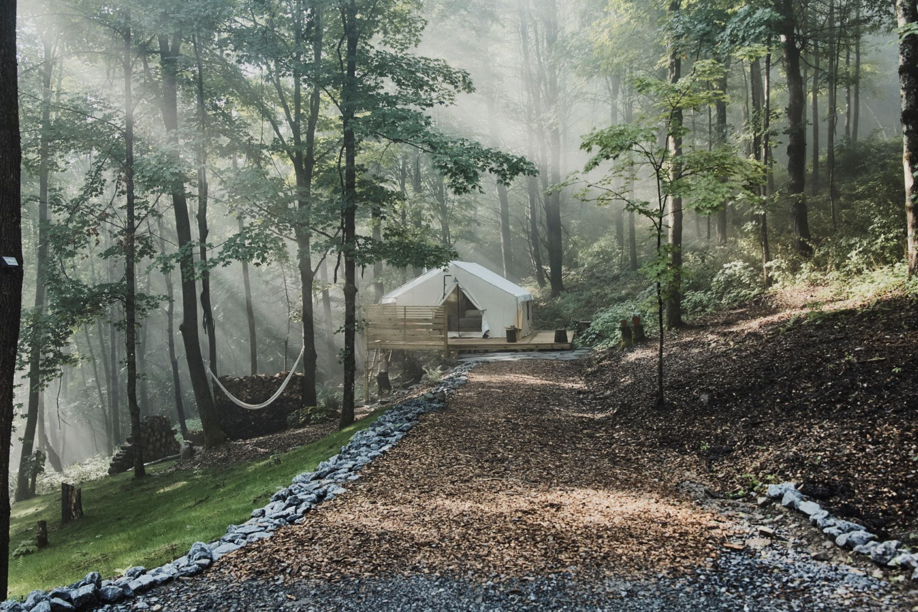 Single Family Homes for Active at Glamorous Camping on the Pantherkill Stream 420 W Fulton Road West Fulton, New York 12194 United States