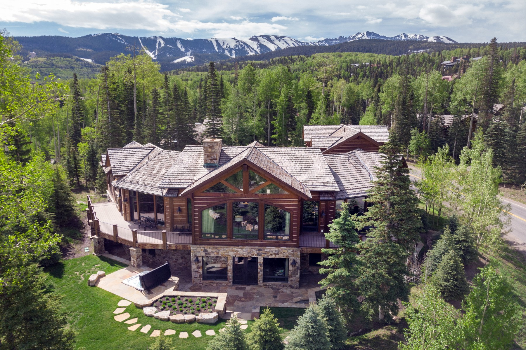 Single Family Homes for Sale at 225 Benchmark Drive Mountain Village Telluride, Colorado 81435 United States
