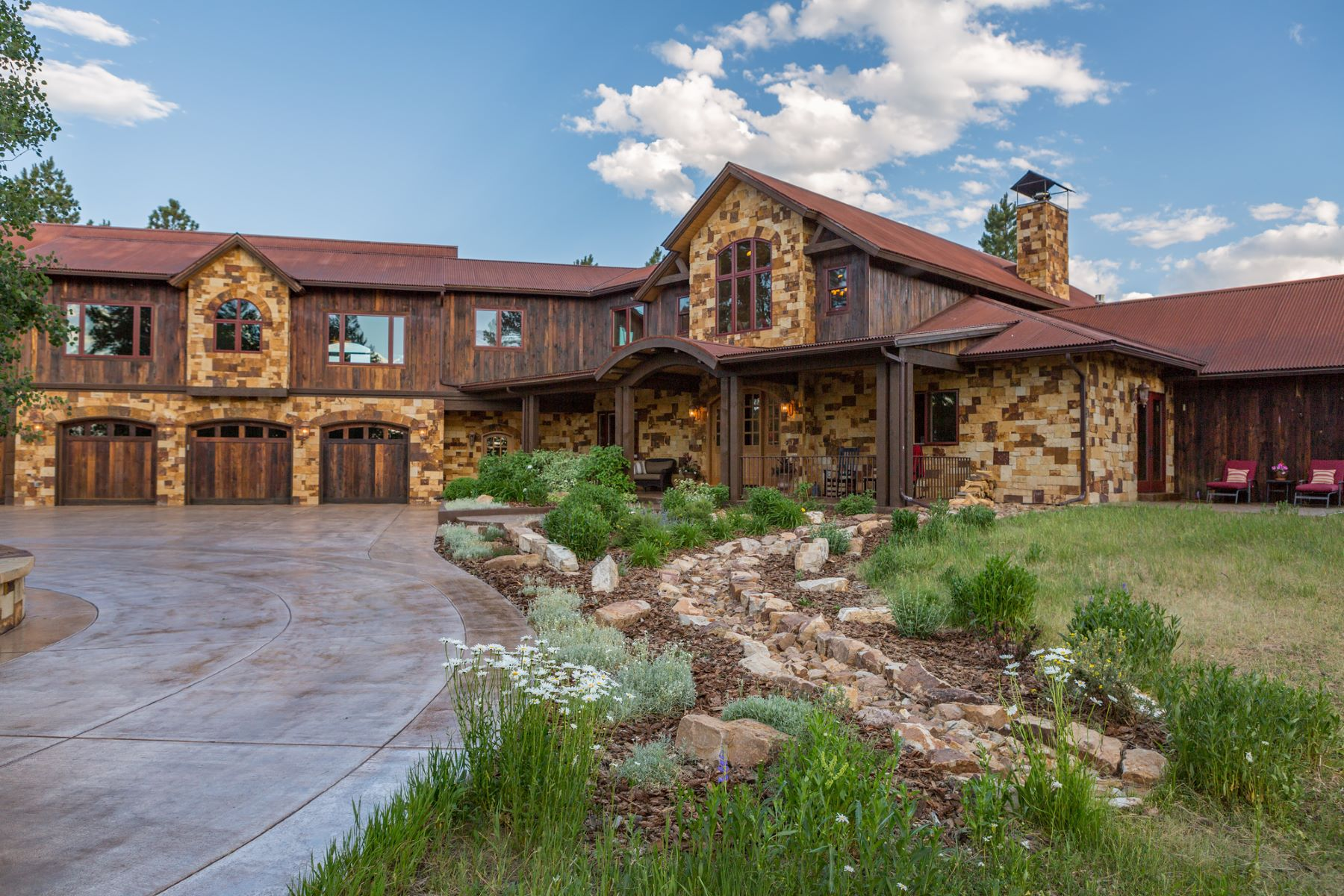 Maison unifamiliale pour l Vente à 20 Fisher Canyon Court Ridgway, Colorado, 81432 États-Unis