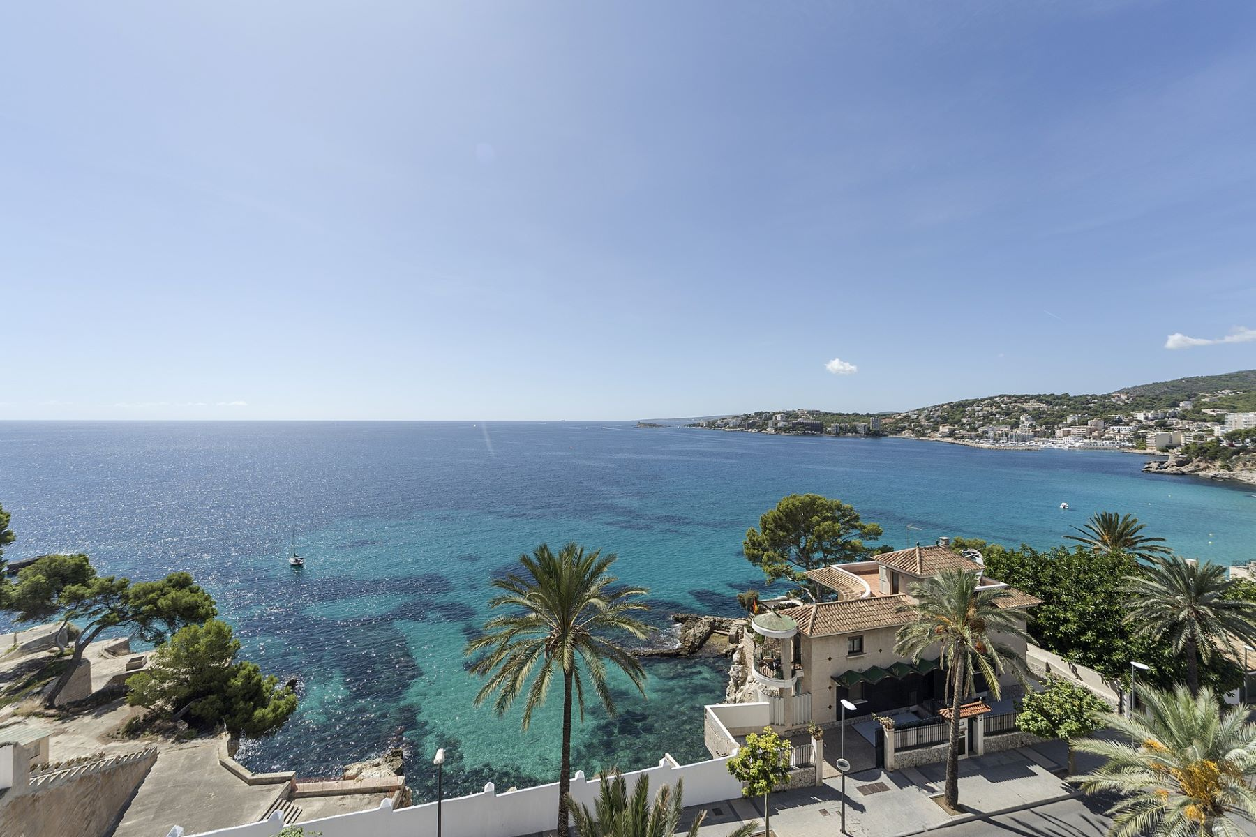 Single Family Home for Sale at Property with spectacular views to the sea Other Balearic Islands, Balearic Islands, Spain
