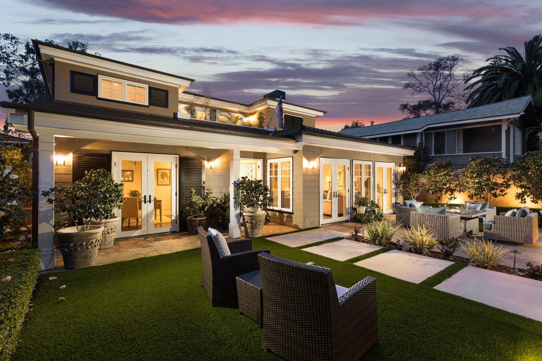 Single Family Home for Sale at 315 Magnolia Dr Laguna Beach, California 92651 United States