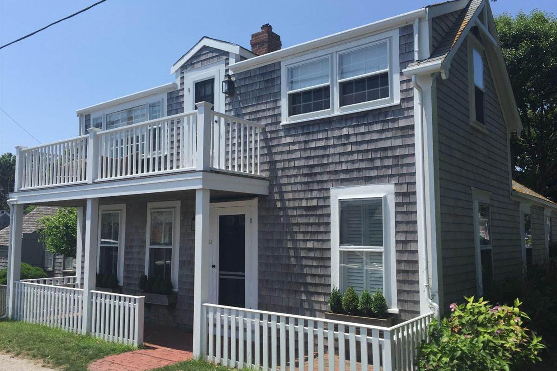 """Частный односемейный дом для того Продажа на """"General Quarters"""" - Quintessential Summer Cottage 8 Broadway Siasconset, Массачусетс, 02564 Соединенные Штаты"""