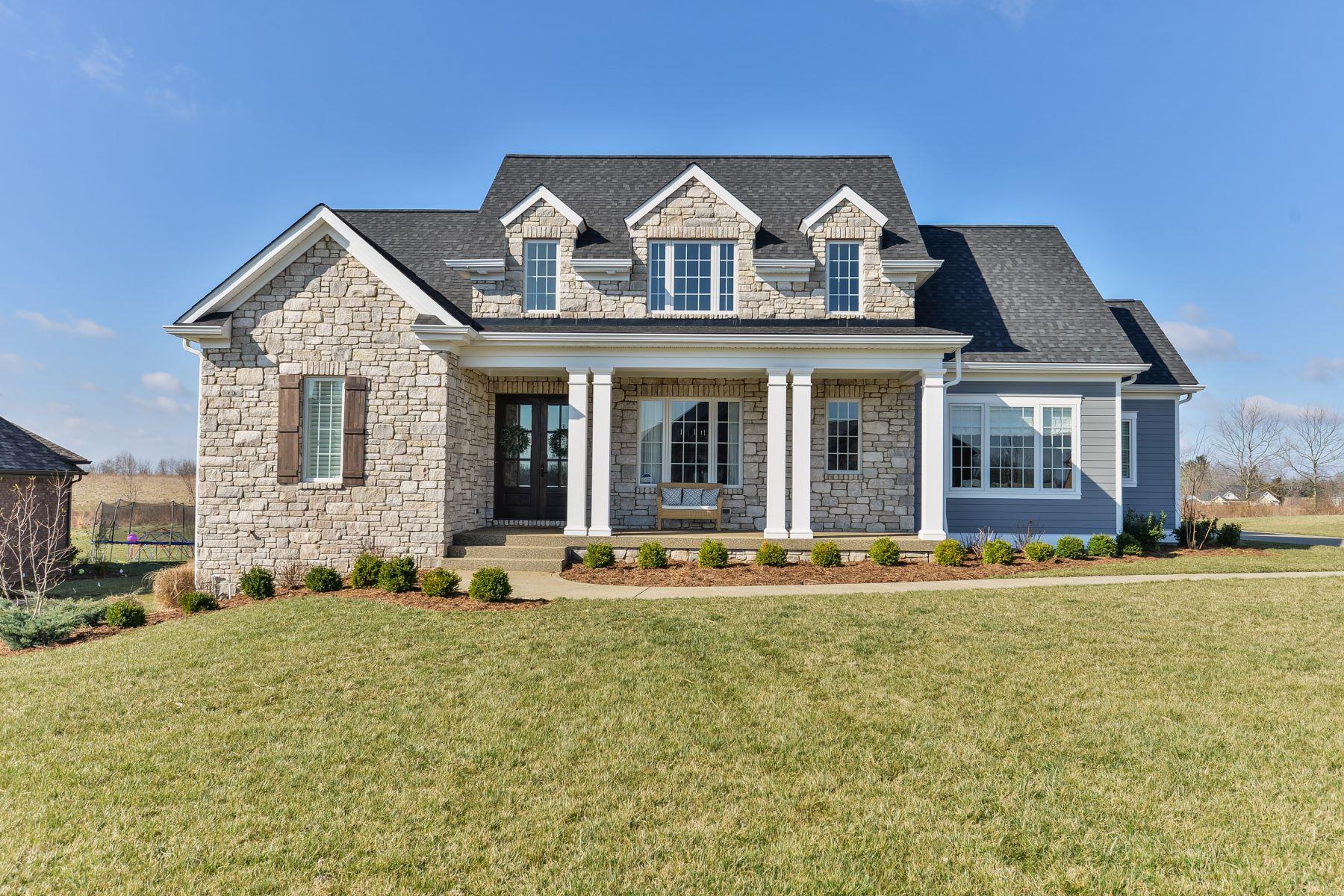 Частный односемейный дом для того Продажа на 12422 Poplar Woods Drive Goshen, Кентукки 40026 Соединенные Штаты