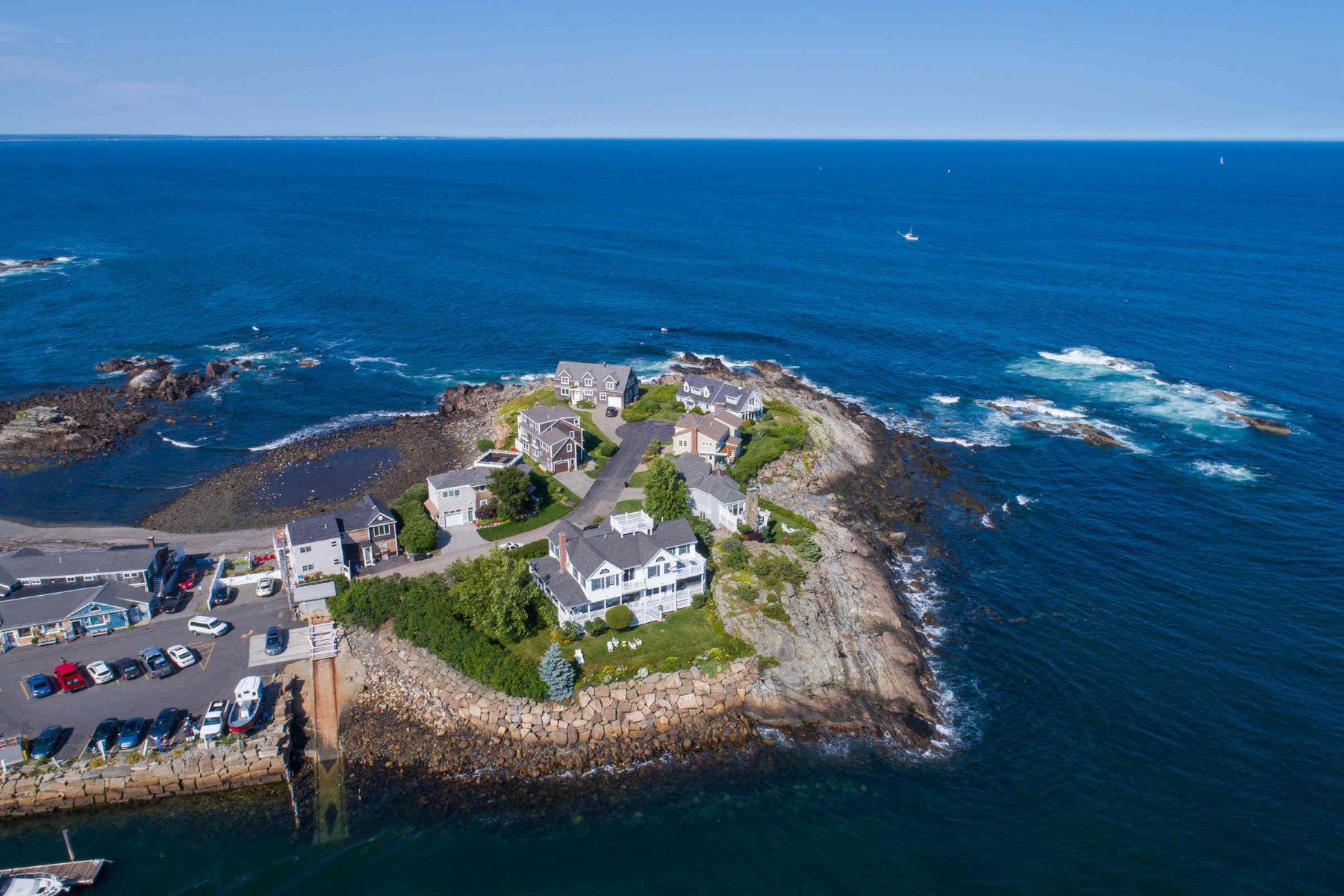 Single Family Homes for Sale at Classic Waterfront Residence in Perkins Cove 12 Harbor Lane, Ogunquit, Maine 03907 United States