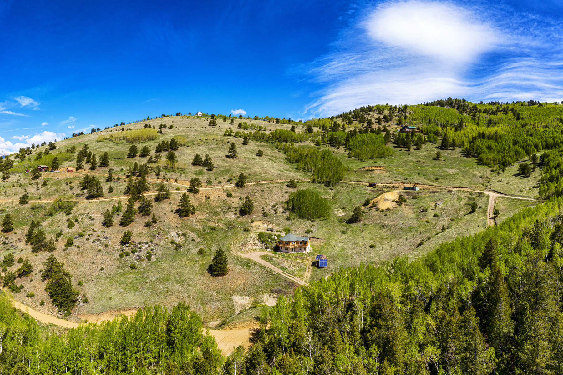 Additional photo for property listing at Off the Grid. Away from it All. Out of this World Views! 481 Red Tail Ridge Road, Idaho Springs, Колорадо 80452 Соединенные Штаты