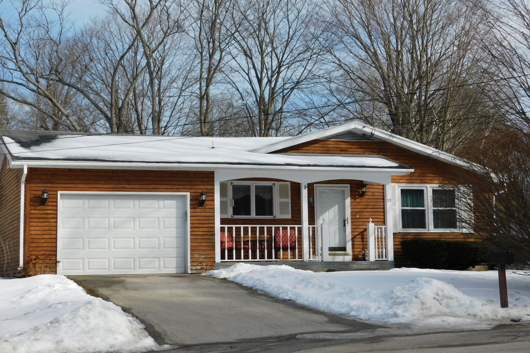 Single Family Homes for Sale at Cute As Can Be! 72 Taft Terrace Wallingford, Vermont 05773 United States