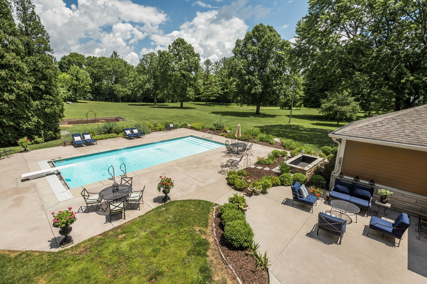 Single Family Home for Sale at Stunning Home Masterfully Updated 1580 W. Main Street Carmel, Indiana 46032 United States