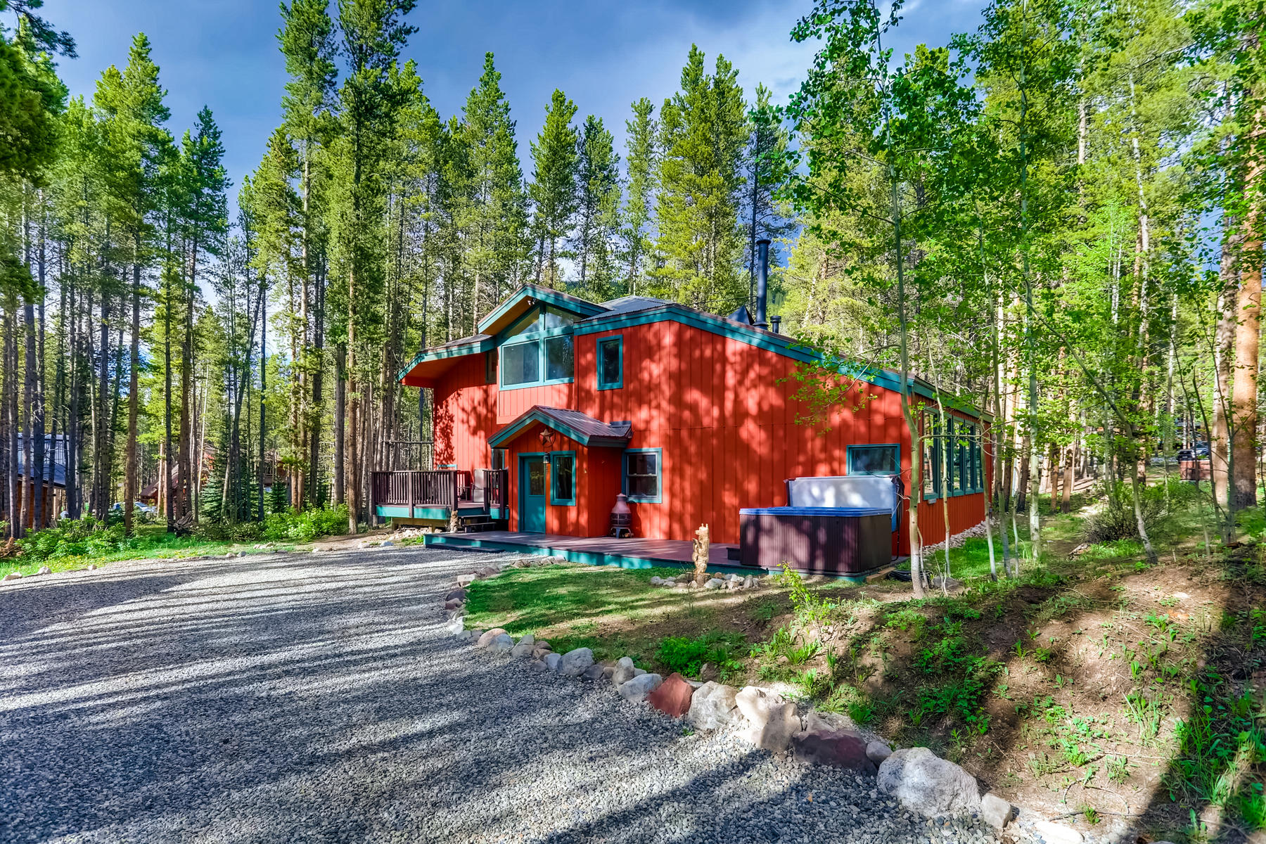 Single Family Homes por un Venta en Warm and Inviting Breckenridge Family Home 27 Royal Drive, Blue River, Colorado 80424 Estados Unidos
