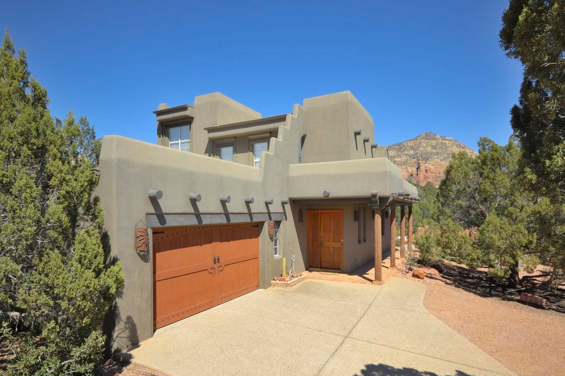 Single Family Homes for Sale at A True Southwestern Pueblo Style Home 48 W Plumage Drive #17 Sedona, Arizona 86336 United States
