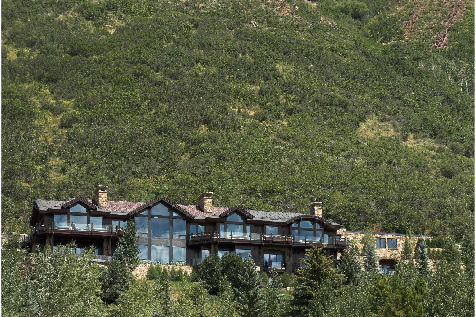 Single Family Home for Sale at Summit House 155 & 200 Sabin Drive Aspen, Colorado 81611 United States