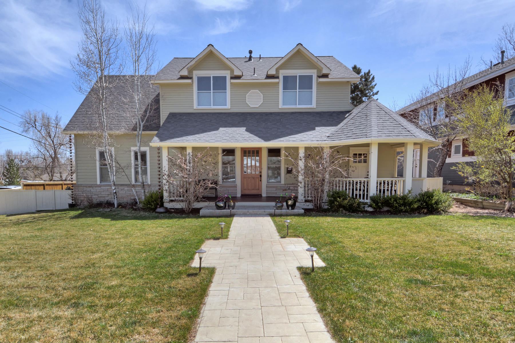 Single Family Home for Active at Newlands Renovated Farmhouse 820 Hawthorn Avenue Boulder, Colorado 80304 United States