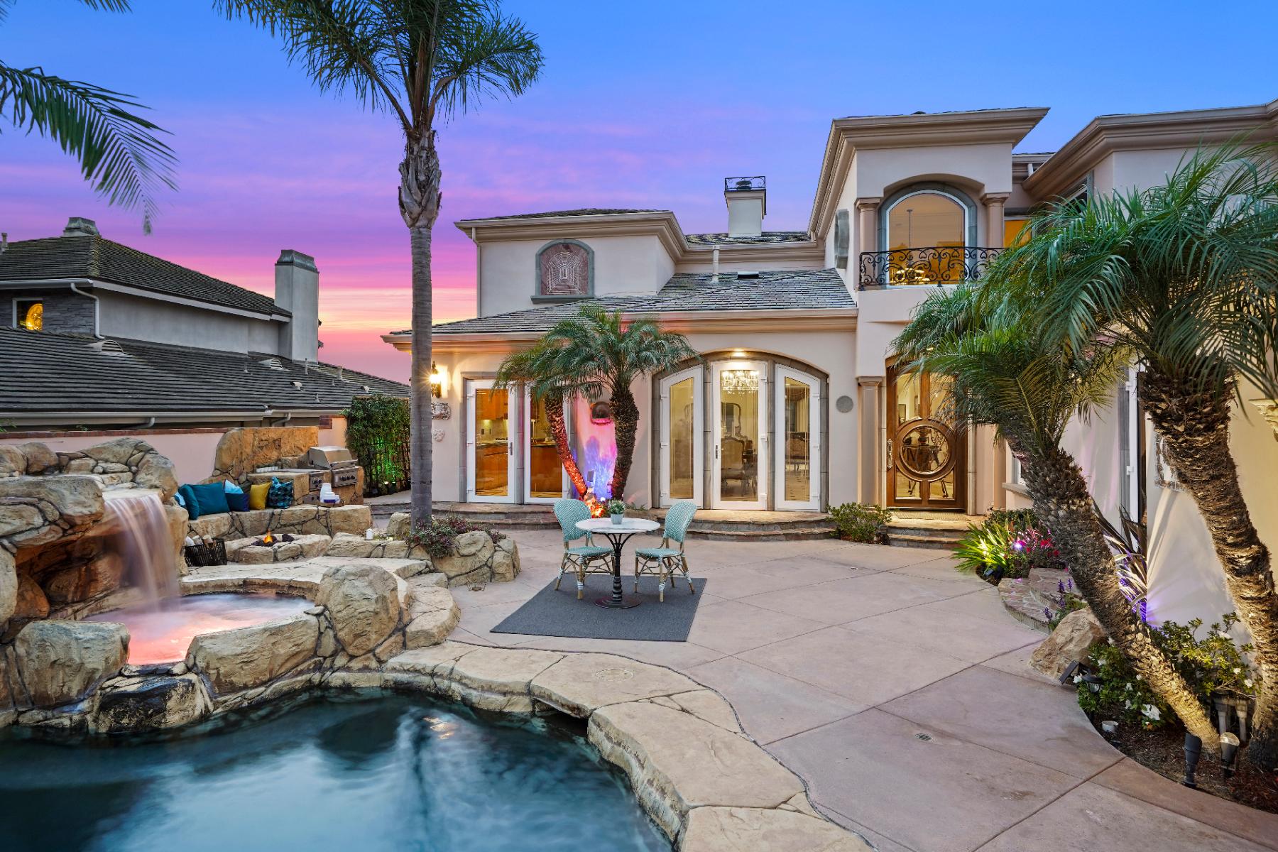 Single Family Homes for Active at 55 Montecito Drive 55 Montecito Dr Corona Del Mar, California 92625 United States