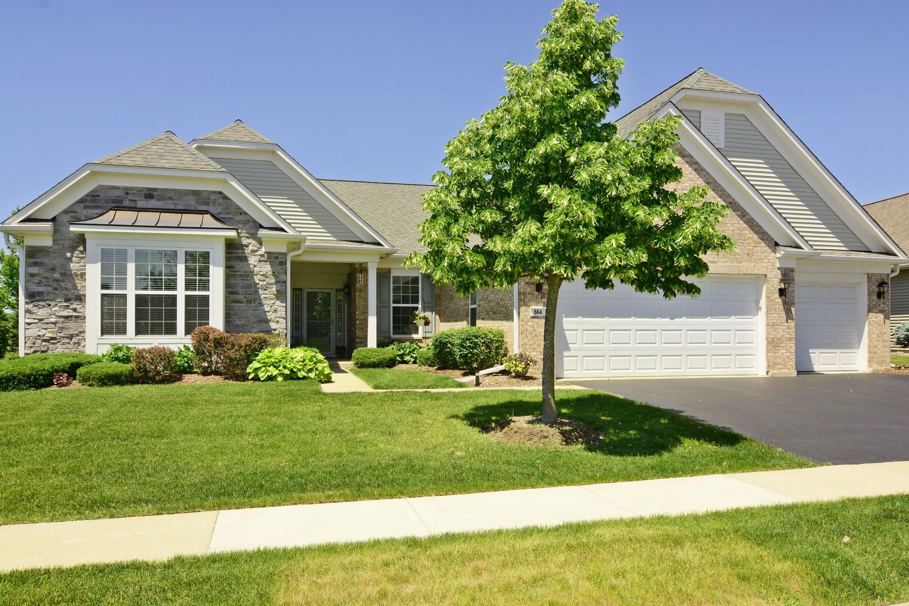 Maison unifamiliale pour l Vente à Awesome Ranch 664 Tuscan View Elgin, Illinois, 60124 États-Unis