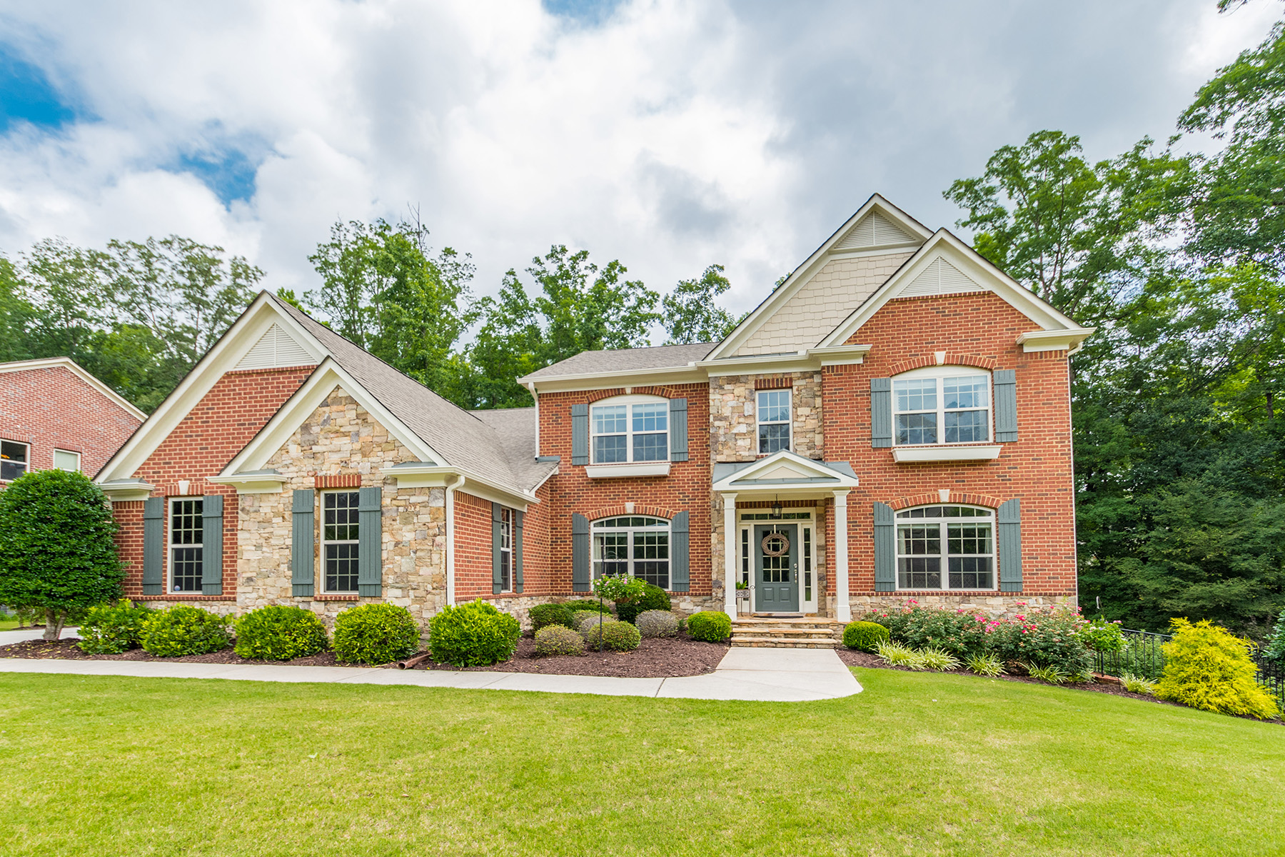 Single Family Home for Sale at Elegant Estate in Harrison HS with Full In-Law Suite 357 Julia Drive Powder Springs, Georgia 30127 United States