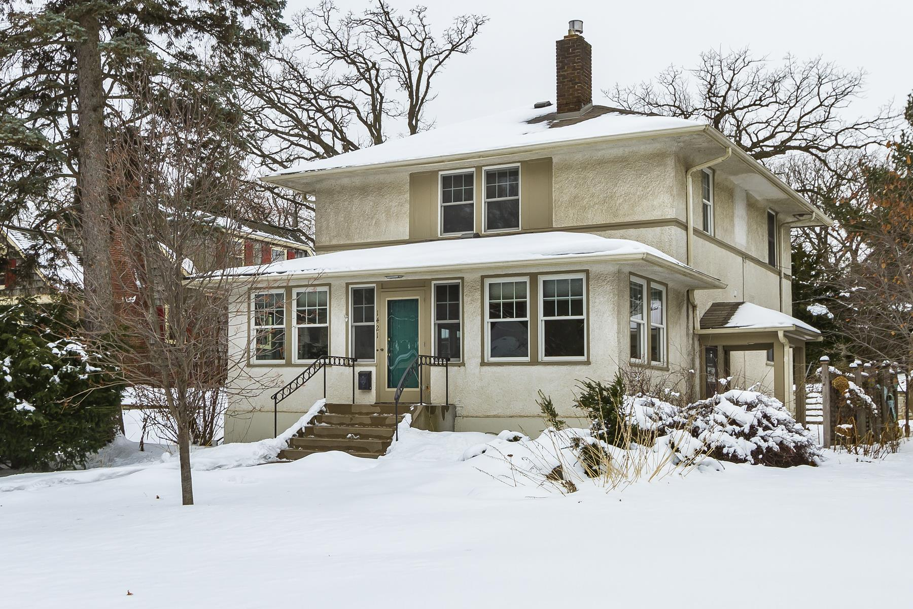 Single Family Homes for Sale at 1421 Hythe Street St. Paul, Minnesota 55108 United States