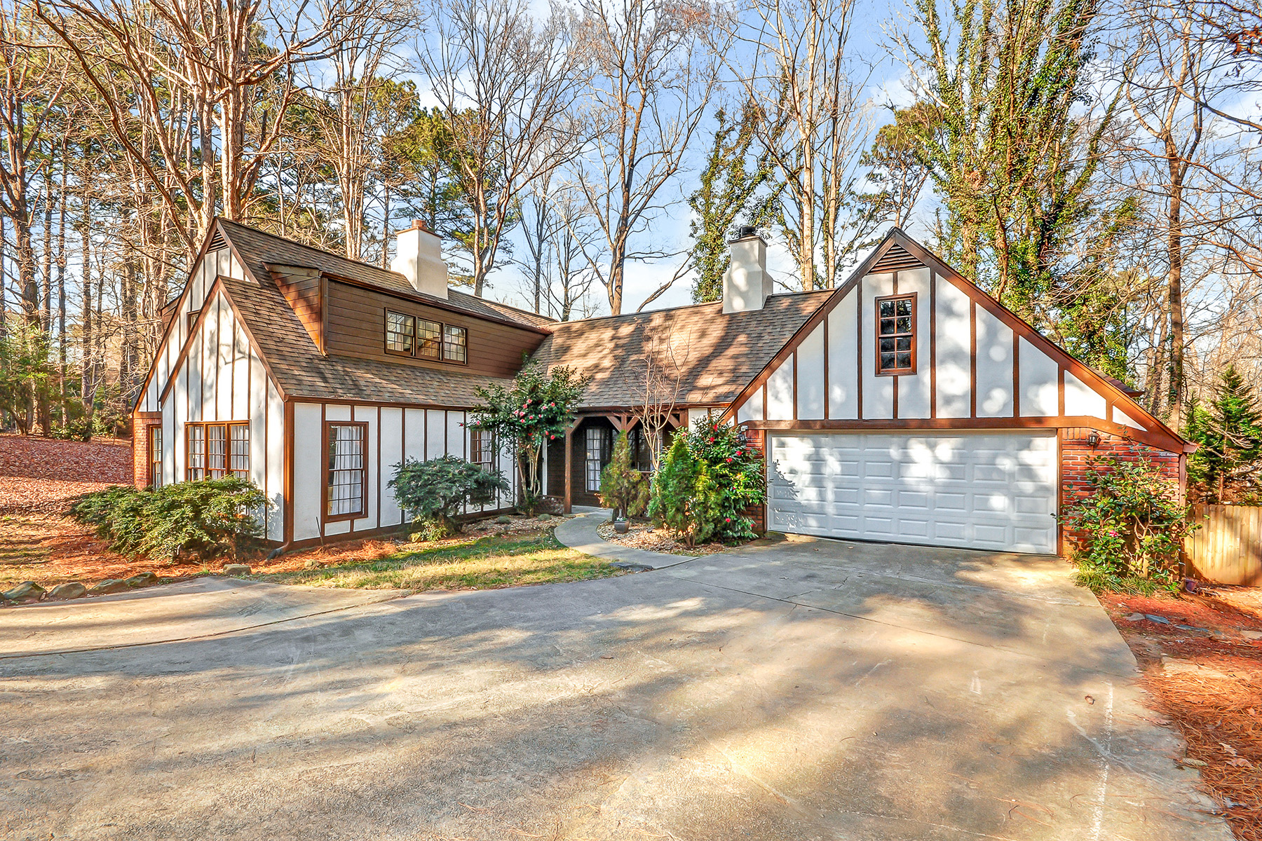 Single Family Home for Sale at Charming, Sun-filled European Tudor Style Home Nestled in Quiet Cul-de-sac 3601 Miller Farms Lane Duluth, Georgia 30096 United States