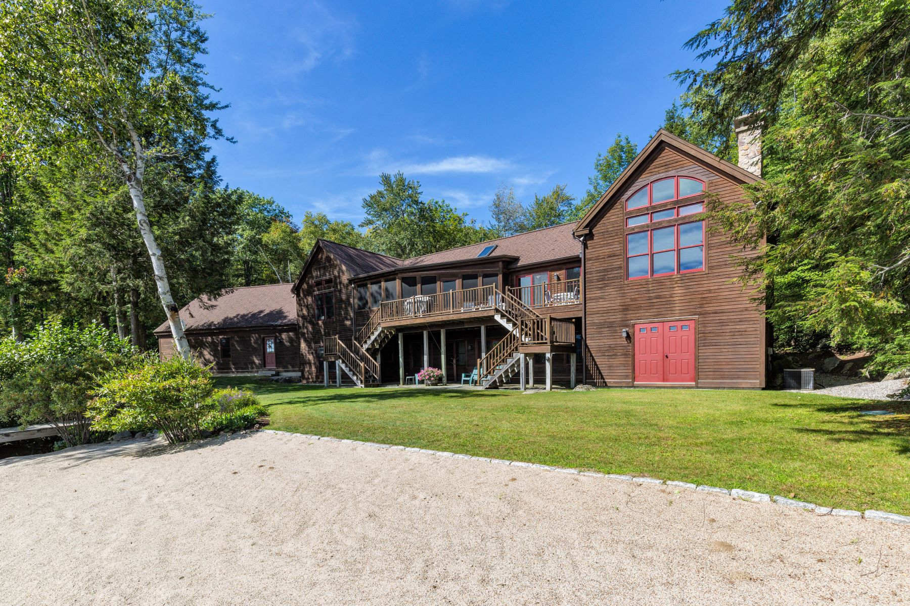Single Family Homes for Sale at 8 Lovejoy Lane Sunapee, New Hampshire 03782 United States